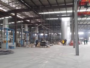 Halle für Gemischaufbereitung WPC